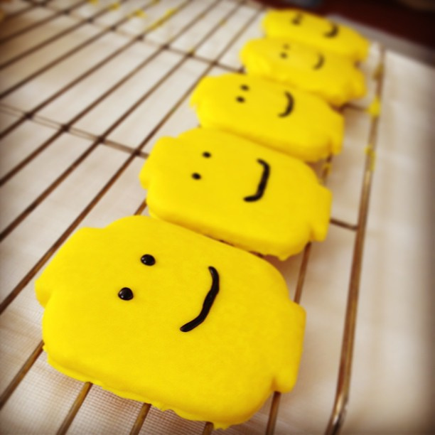 Lego Man Sugar Cookies by Betsy Weber on Flickr, used under a CC-BY 2.0 license